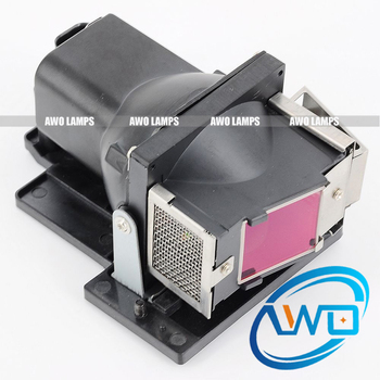 AWO Replacement Projector Lamp 5811116685-S with Housing for  VIVITEK D330MX D330WX 180 Day Warranty