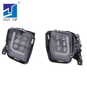 Image 3 - Smoke Lens LED Lamp Fog Lights For 2013 2017 Dodge Ram 1500 2500 3500