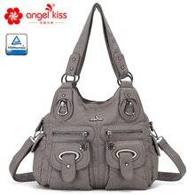 Angel Kiss Handbags Women Purse PU Leather Multi Pockets Shoulder Bags XS160773