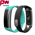 Pinwei smartband c6 deporte pulsera bluetooth smart watch impermeable inteligente muñequera heart rate monitor podómetro para android ios