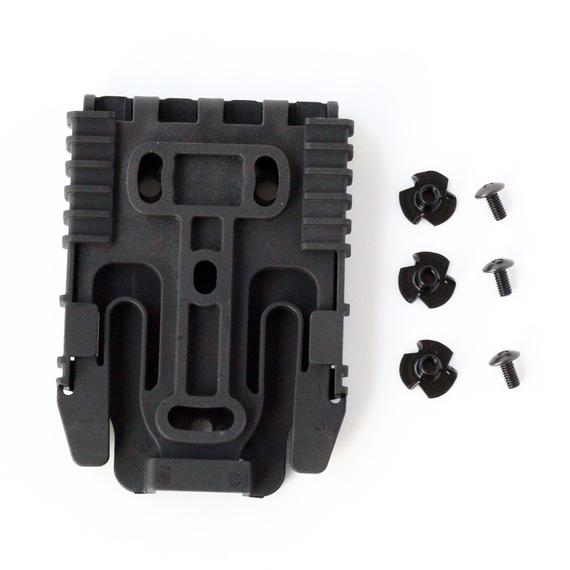 Quick Locking System Kit QLS Locking Fork Mount Plate For Tactical Holster QLS Holster Attachments With Mounting Hardware in Outdoor Tools from Sports Entertainment