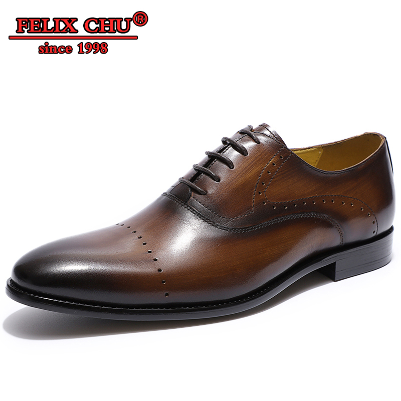 Color : Brown, Size : 6.5 M US Mens PU Leather Brogue Shoes Classic Lace Up Tassel Decoration Breathable Formal Business Shoes