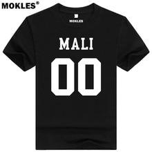 MALI t shirt diy free custom made name number mli t-shirt nation flag ml republic french country malian word university clothing