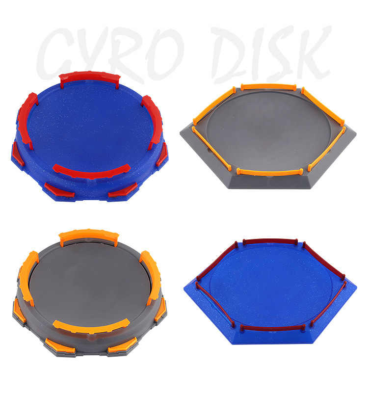 Beyblade Burst Gyro Arena Disk Exciting Duel Spinning Top Toy Accessories Arena spin top Stadium Kids Best Gifts