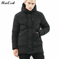 Hot Sell Male Army Green High Quality Winter Jacket Men Coats Thick Warm Casual Long Coat Parkas Men Windproof Hooded Outerwear