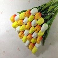 white orange yellow