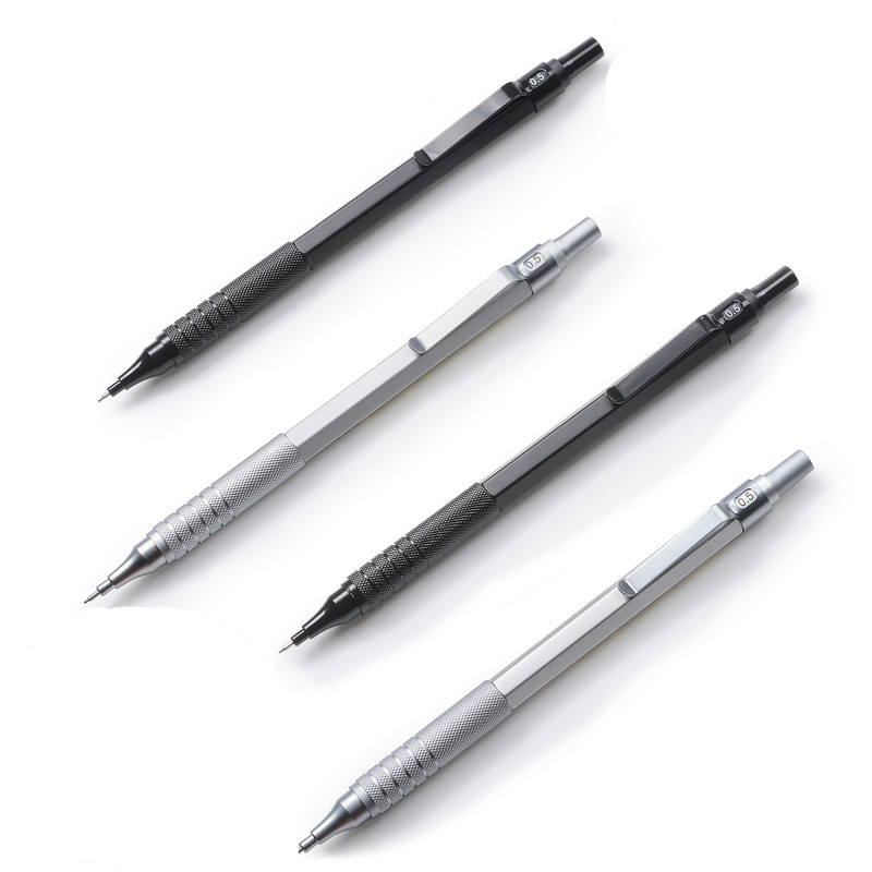 Protable 0.5mm Iron Metal-Mechanical Automatic Pencil Writing Drawing School