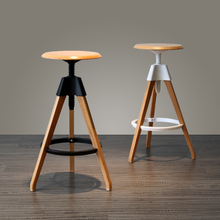Villa luxury bar stool Hotel VIP rooms coffee stool retail wholesale free shipping black white color