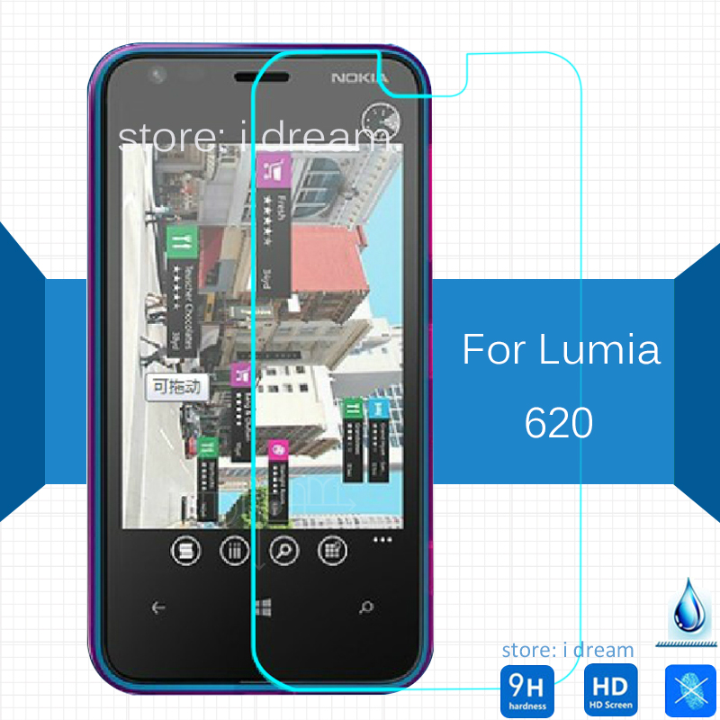2PCS For Nokia <font><b>lumia</b></font> 620 625 630 640 XL Tempered Glass Screen Protector 2.5 9h Safety Protective Film on <font><b>lumia</b></font> <font><b>640XL</b></font> Dual Sim image