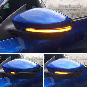 Image 5 - 2 Pieces LED Side Wing Dynamic Turn Signal Light for VW Passat CC B7 Beetle Scirocco Jetta MK6 Rearview Mirror Indicator