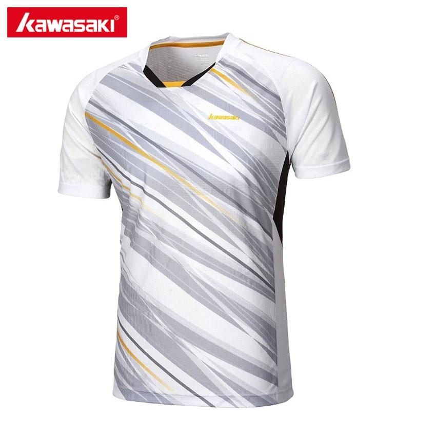 Kawasaki Brand Mens Sports T Shirt V Collar Short Sleeve
