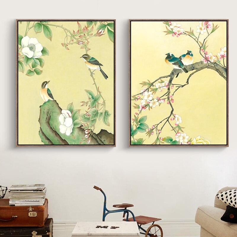 Modern Bird Wall Art Picture Collection - Wall Art Design ...