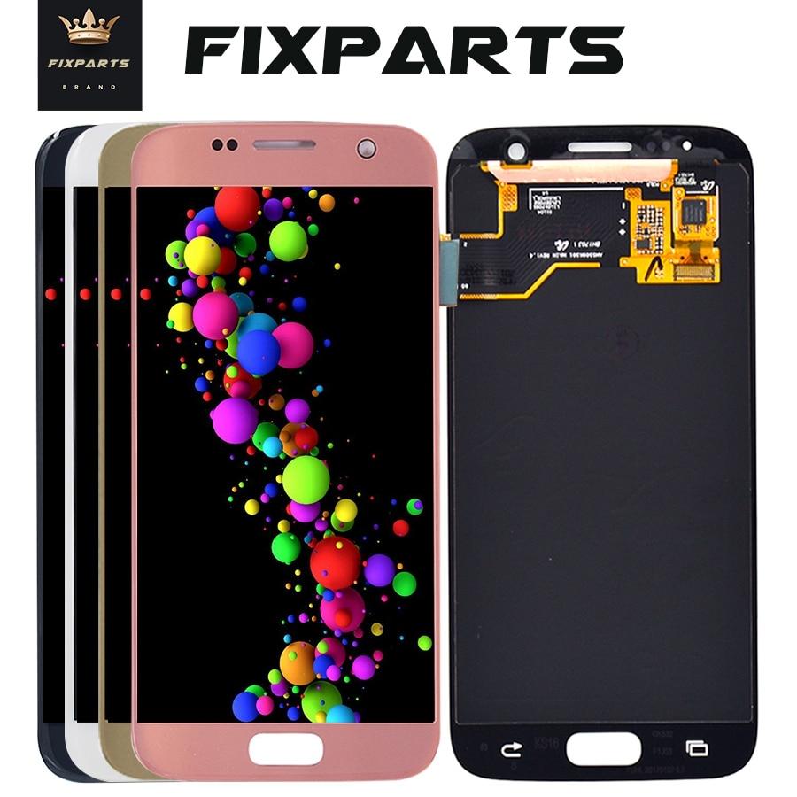 Pour SAMSUNG GALAXY S7 G930A G930F SM-G930F LCD Affichage à L'écran Tactile Digitizer Assemblée Pantalla Remplacement Pour SAMSUNG S7 LCD