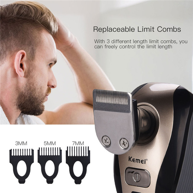 Electric Shavers 5D Floating Heads Washable Beard Trimmer Razor Multifunction Hair Clipper Rechargeable Shaving Machine 4