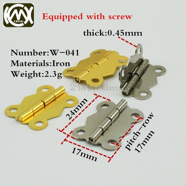 17*24mm 100 stück goldene/nickel küchenschrank scharnier möbel ...