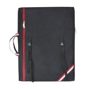 Image 5 - الإبداعية ضوء الوزن كبيرة الفن حقيبة للطلاب الاطفال الفن لوازم تخزين 4K دفتر الرسم الرسم حقيبة