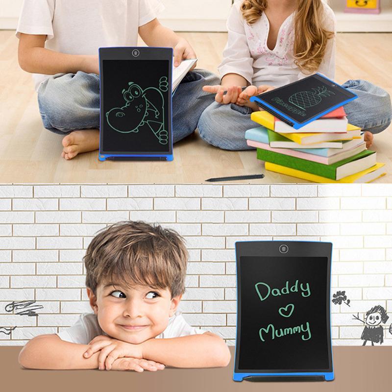 Freundschaftlich Digitale Zeichnung Schreiben Tabletten Board 8,5 Zoll Lcd Display Schreiben Boards Whiteborad Für Kinder Ziehen Mitarbeiter Zeigen 126*176mm Up-To-Date-Styling Digital Tablets
