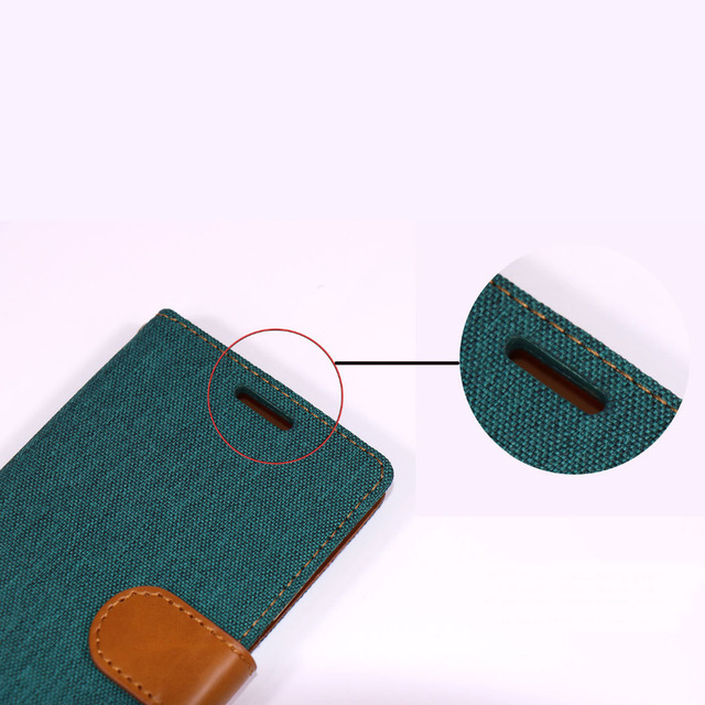 Fashion Luxury Denim Phone Stand Wallet Case For iPhone 5 5s SE 6 7 6s 6Plus 6sPlus 7Plus Card Slot Leather Cover Pouch