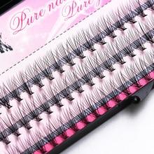 Fashion 60pcs Professional Makeup Individual Cluster Eye Lashes Grafting Fake False Eyelashes Free Shipping