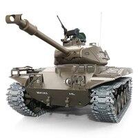 1:16 U.S.A M41 ходить бульдог RC легкий танк 2,4 ГГц многочастотный пульт дистанционного управления Танк Лучший подарок для любителей военной и реб