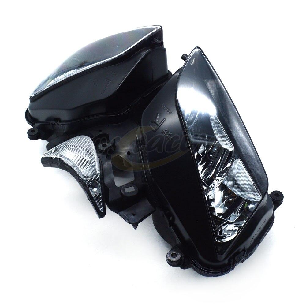 Phares de moto phares phares phares assemblage de lampes pour HONDA CBR1000RR 2004-2007 2004 2005 2006 2007 - 3