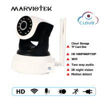 720P font b wireless b font IP Camera wifi 960P video surveillance camera mini Pan Tilt