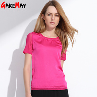 2015 New Women Silk Shirt Comfortable And Fashion