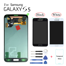 AMOLED For Samsung Galaxy S5 G900 SM-G900F Display LCD Screen replacement for Samsung G900FD G9008W G900FQ lcd display module