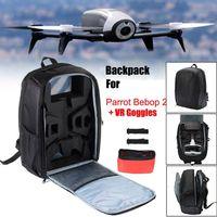 1Set Portable Backpack Travel Shoulder Bag Carrying Case Propellers for Parrot Bebop 2 FPV Drone Accessories