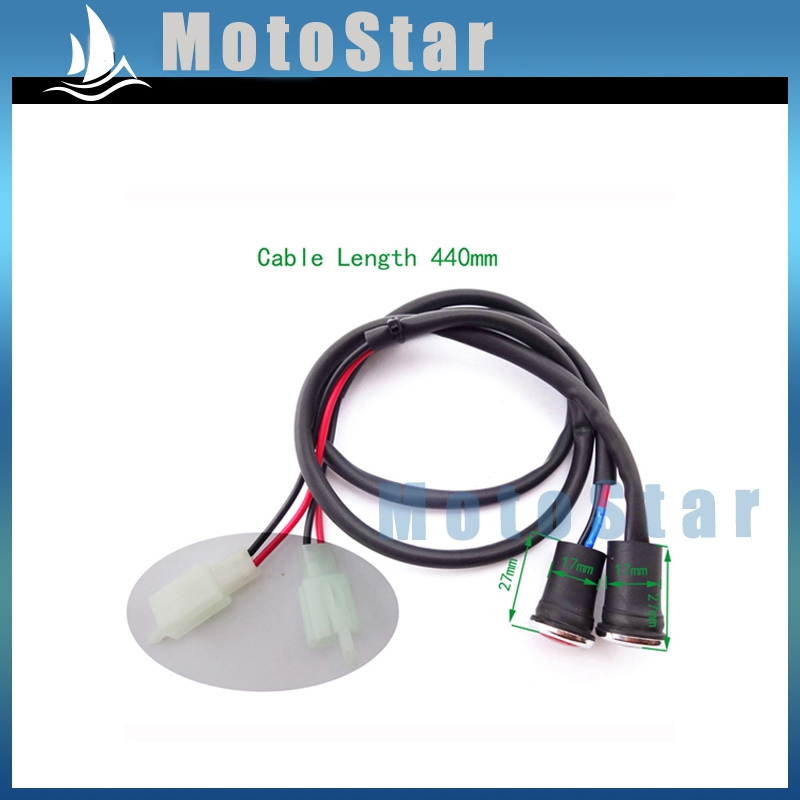 Smart Xlsion Neutral Reverse Gear Light Indicator For Chinese 50cc 110cc 125cc 150cc 200cc 250cc Atv Quad Moto Pit Dirt Bikes Engines & Engine Parts Engine Cooling & Accessories