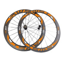 Powerway Carbon Ceramic hubs carbon track clincher Wheelset 60MM and carbon bike wheel 60/88/50/38mm Wheels