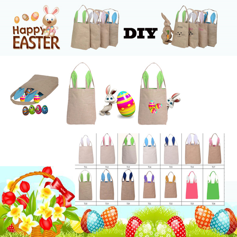 Online get cheap diy easter bags aliexpress alibaba group 10pcslot easter rabbit ears bag wholesale gift bag christophany rabbit ear bag 255 negle Image collections