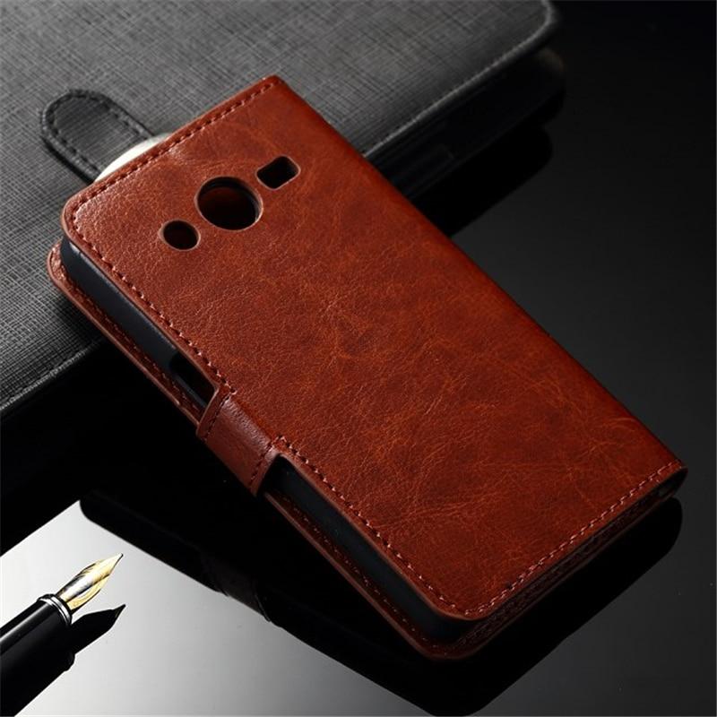 Untuk Samsung SM-G532F Kasus Balik PU Kulit Bingkai Foto Tas Penutup - Aksesori dan suku cadang ponsel - Foto 4