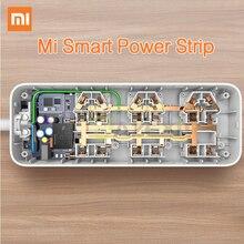 Original Xiaomi Smart Power Strip Intelligent 6 Ports WiFi Wireless Remote Power on/off with Phone APP Control