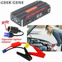 High Quality Car Jump Starter 4USB Power Bank Car Battery Booster Charger Emergency Start Auto Engine