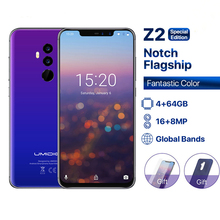 """UMIDIGI Z2 Special Edition Octa Core cell phone6.2 FHD+Full Screen  4G+64GB F/1.7 Android 8.1 4G Smartphone gsm mobile phone"""""""