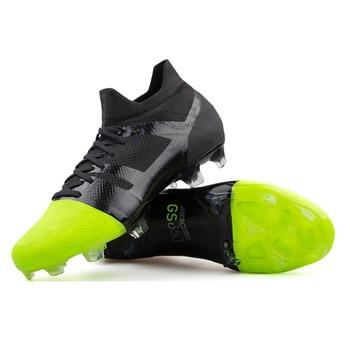 b0a10d64 SpeedMad 2019 nueva llegada botas de fútbol Greenspeed 360 FG fútbol zapatos  lentes superfly GS chuteira futebol Profissional