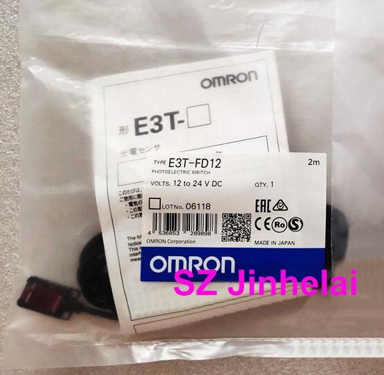 OMRON E3T-FD12 Authentic original Photoelectric switch  2M   12-24VDCOMRON E3T-FD12 Authentic original Photoelectric switch  2M   12-24VDC