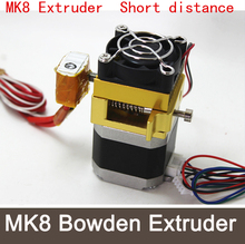 Reprap Direct extruder short distance extruder with 1.75mm supplies 3D printer nozzle MK8 Extruder Nema 17 stepper motor +Mk8