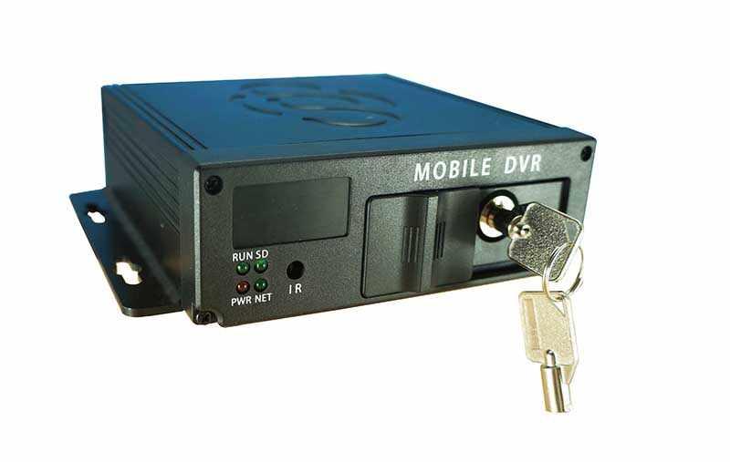 4 kanaals auto dvr 4ch MDVR mobiele video recorder voertuig dvr auto bewakingscamera Video registreer auto DVR camera kit