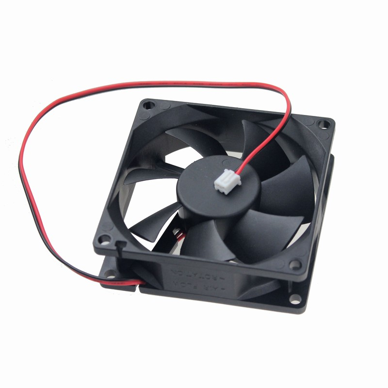 Gdstime 1 Piece 8CM DC5V 80mm 80x80x25mm 8025 2Pin Brushless Computer Case Cooling Cooler Fan free shipping gdstime 10 pcs dc 12v 14025 pc case cooling fan 140mm x 25mm 14cm 2 wire 2pin connector computer 140x140x25mm