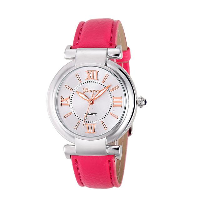 Quartz Ladies Watch  Leather Wrist