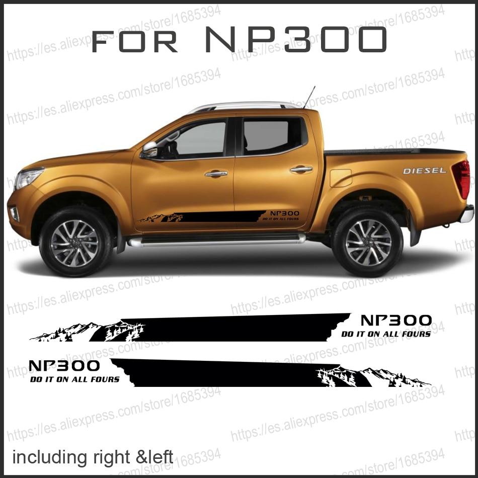 2015 2018 Cladding For Nissan Navara Frontier 2017 Kits ...