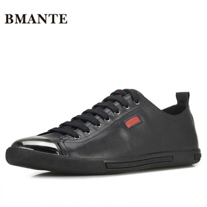 New Men Casual Genuine Leather Shoes Lace-up Flats Spring Black Shoes Luxury Trainers Summer Male Adult Shoes ege brand handmade genuine leather spring shoes lace up breathable men casual shoes new fashion designer red flat male shoes