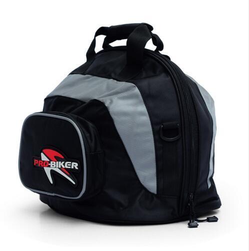 Mais novo saco de mão Motocicleta meio Capacete Motocross capacetes bagagem Pacote de Saco Portátil Saco de Ombro À Prova D' Água Esportes tanque