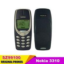 Nokia 3310 teléfono celular original gsm 900/1800 utilizado