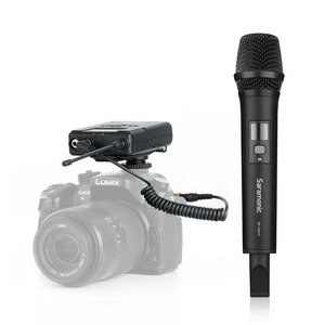 Image 4 - Saramonic Uwmic15A UHF אלחוטי כף יד ראיון מערכת מיקרופון להקלטת וידאו, ניקון, Canon