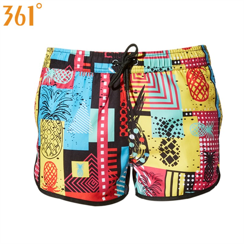 361 Women Beach Shorts Female Swimming Trunks Board Shorts Quick Dry Surfing Pants Sports Swim Shorts for Women Swimwear Bottoms