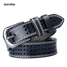 GEERSIDAN belts for women leather belt female women genuine leather strap women straps leather dress belt cinturon mujer piel недорого