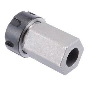 Image 3 - Hard Steel ER 25 Hex Collet Block Spring Chuck Collet Holder 35x65mm For 60/90/120 Degrees Engrave Machine